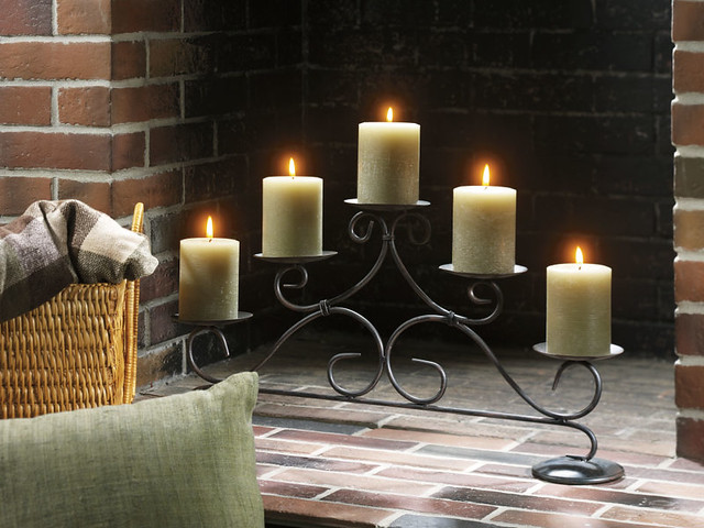 Yankee Candle Fireplace Pillar Holder Flickr Photo Sharing