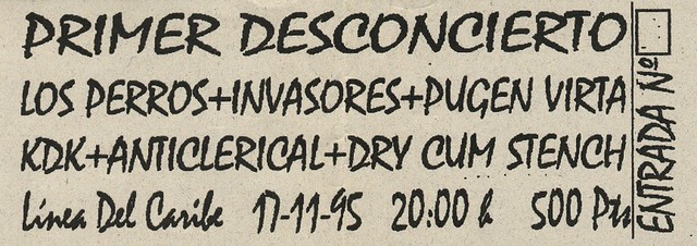 Los Perros+Invasores+Pugen Virta+KDK+Anticlerical+Dry Cum Stench