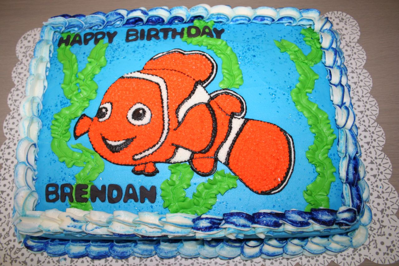 Finding Nemo Birthday Cake A Photo On Flickriver