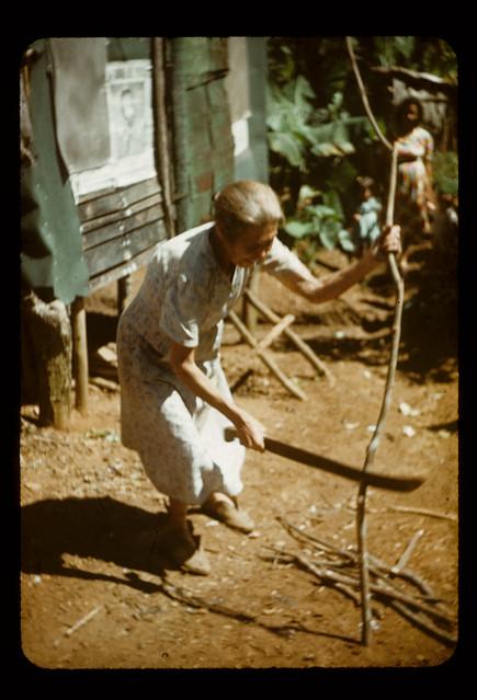 nenets woman cutting firewood - photo #26