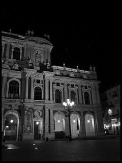 Bild von Palazzo Carignano. noiretblanc turin palazzocarignano