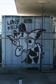 caged girafa