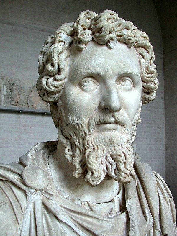 Lucius Septimius Severus (April 11, 146 -  February 4, 211)