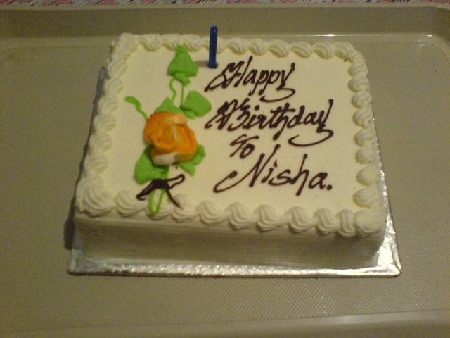 Birthday Cake Pic With Name Nisha : Birthday Cake Flickr - Photo Sharing!