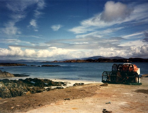 Lobster nets on Iona
