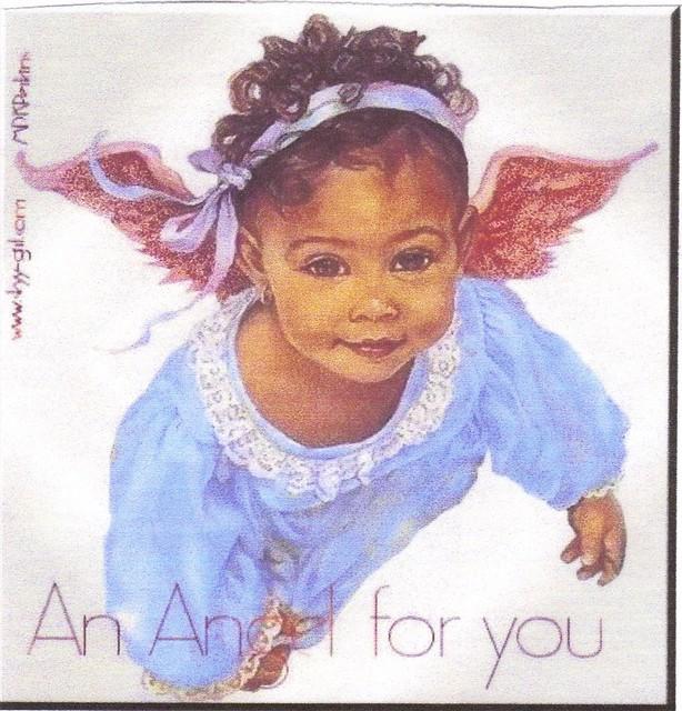black baby angel | Flickr - Photo Sharing!