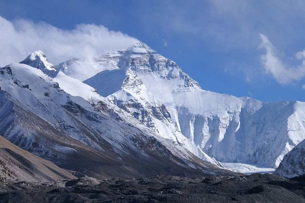 Mount Everest from