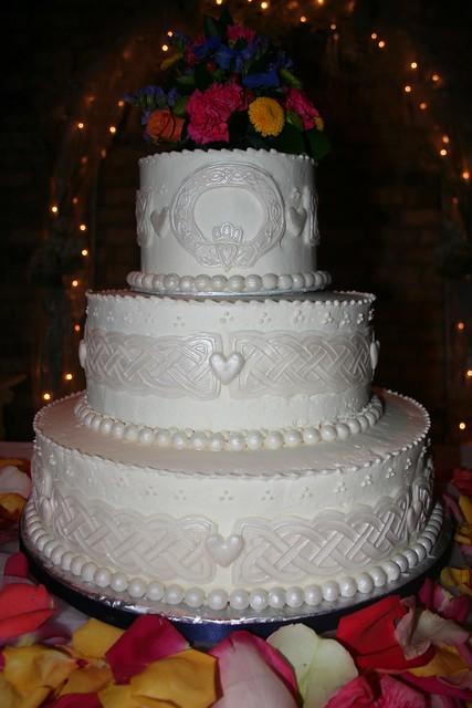 the knot kc wedding cakes celtic cake flickr photo 20854