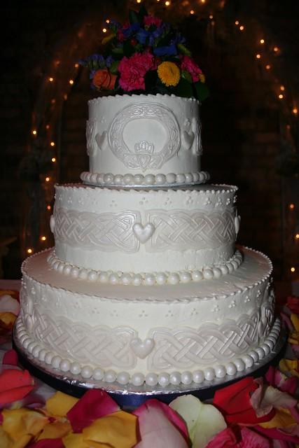 Irish Wedding Cakes Pictures