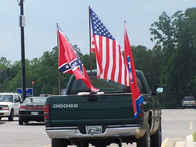 Redneck flying the colors | Flickr - Photo Sharing!