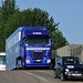 From Silverstone to Assen: on the road with the Fiat Yamaha Team trucks and Fiat 500C