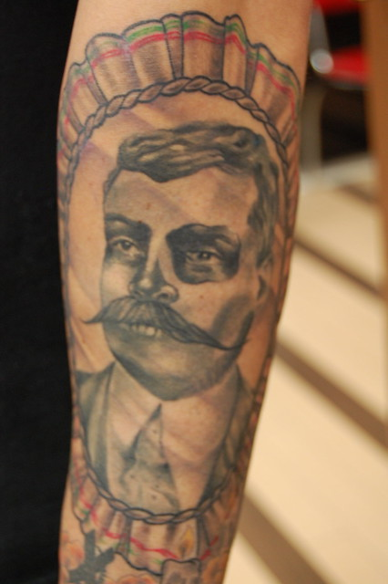 Mexican revolution tattoo pictures to pin on pinterest for American revolutionary war tattoos