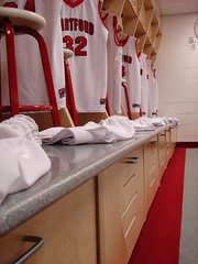 University of Hartford - Men's and Women's Basketball Wood Lockers 9