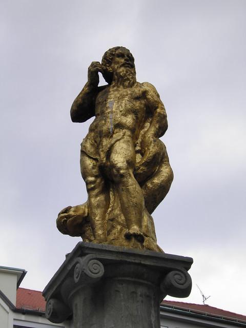 Neptune's Fountain, Ljubljana