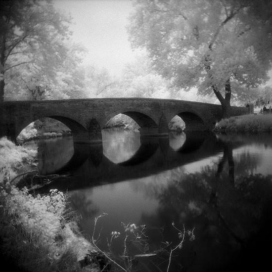 Burnside Bridge in IR