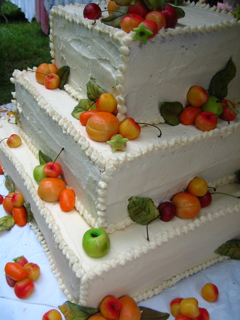 Marzipan Fruit Wedding Cake Flickr Photo Sharing
