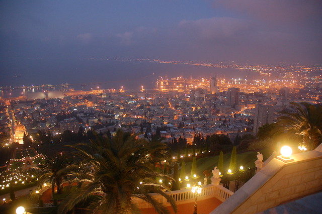 Haifa Israel - Bahai Shrine of the Báb, Port, Hadar, Krayot by david55king, on Flickr