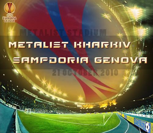 UEFA League Europa: Metalist Kharkiv - Sampdoria Genova