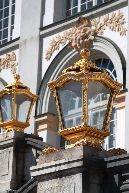 Gilded lamps