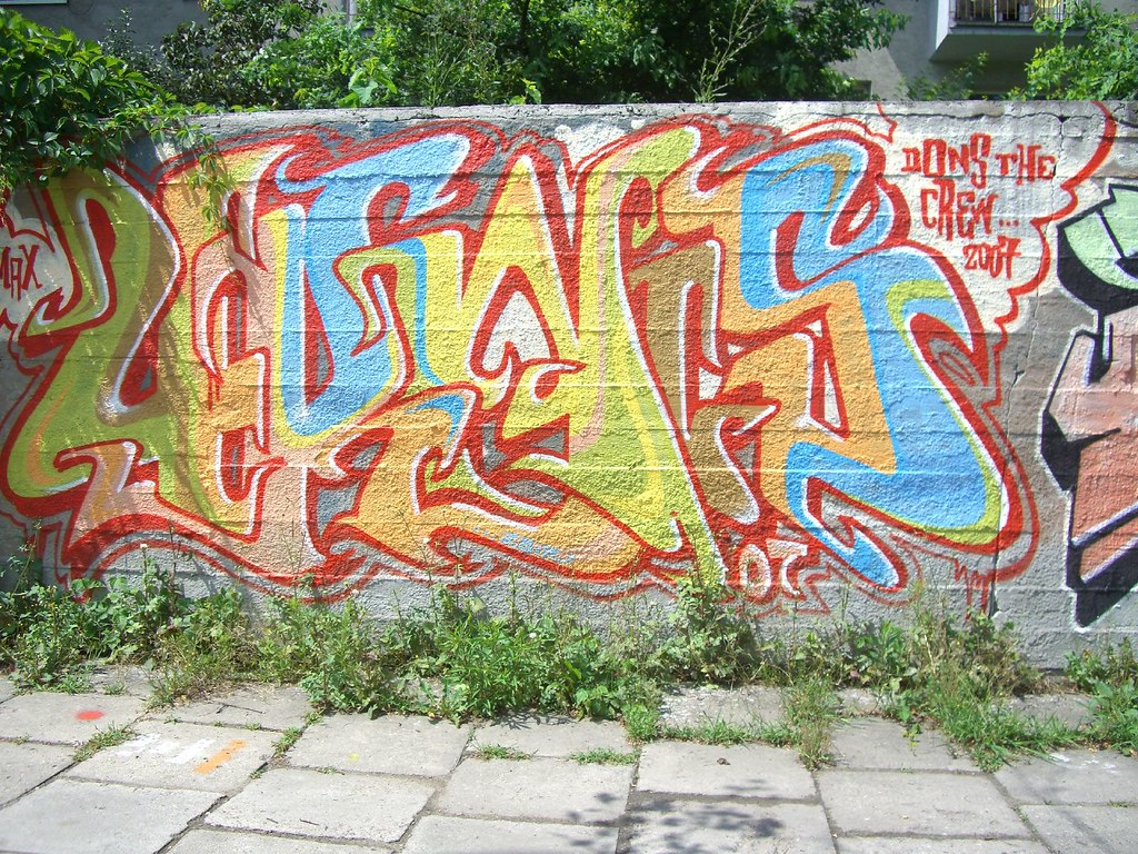 graffiti | the dons crew | krakow 2007