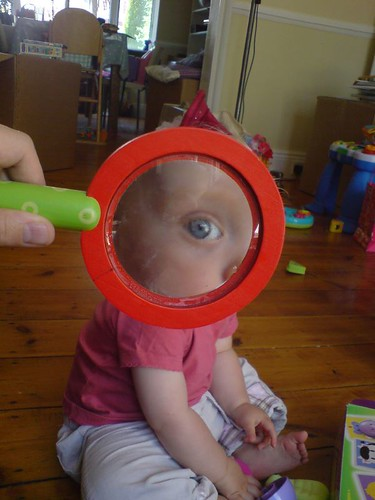 fun with magnifying glasses