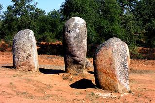 Cromeleque dos Almendres, Alentejo, Portugal