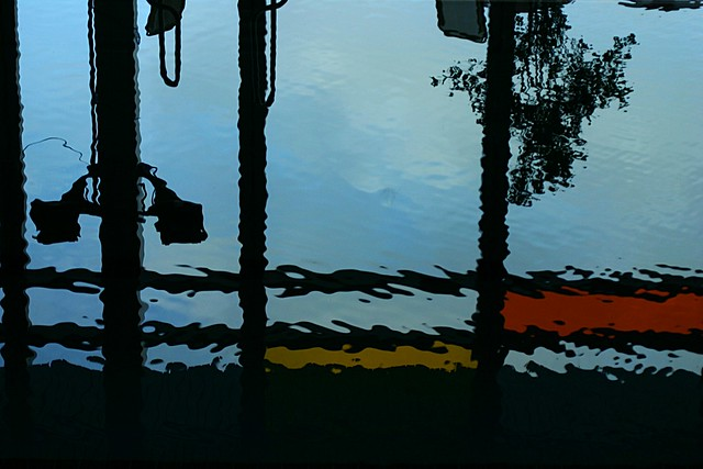 Reflection Looking Through A Window Into A Swimming Pool A Flickr Photo Sharing