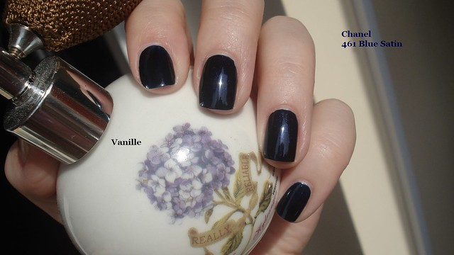 Chanel 461 Blue Satin | Flickr - Photo Sharing