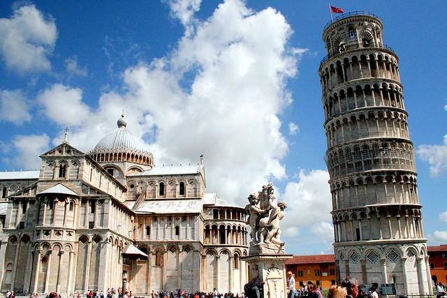 La Piazza del Duomo. Pisa. Italia.