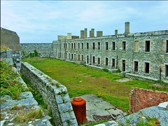 Fort Tourgis Courtyard - Alderney