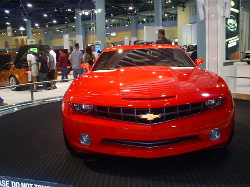 Autoshow Chevy camaro 2007  Cars, GM, Chevrolet, Auto show Miami Beach,