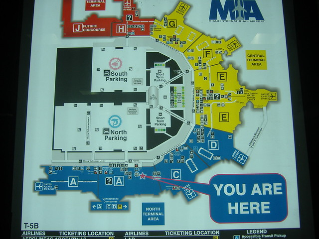 miami airport map | flickr - photo sharing!