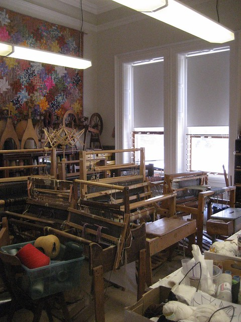 The weaving room