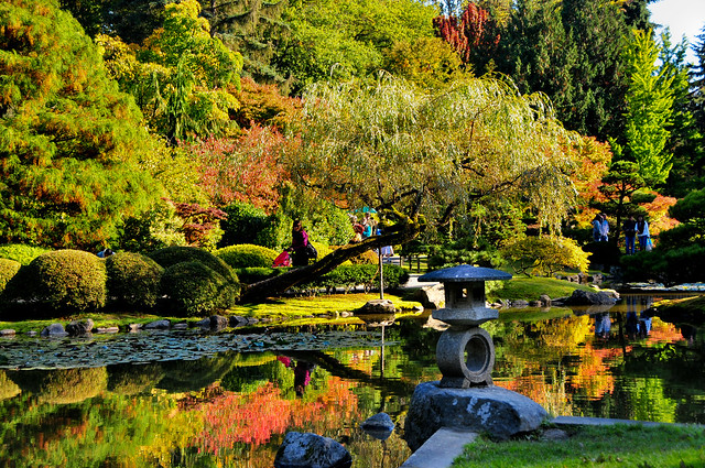 Japanese garden fall colors flickr photo sharing for Japanese garden colors