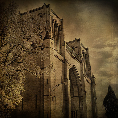 city christchurch canada dark landscape bc cathedral gothic vancouverisland victoriabc zedzap magicunicornverybest