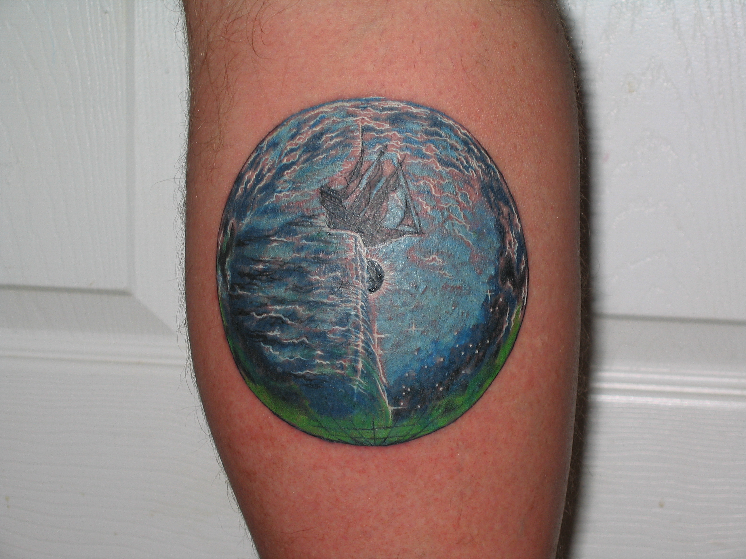 kansas point of know return an earth tattoo depicting an