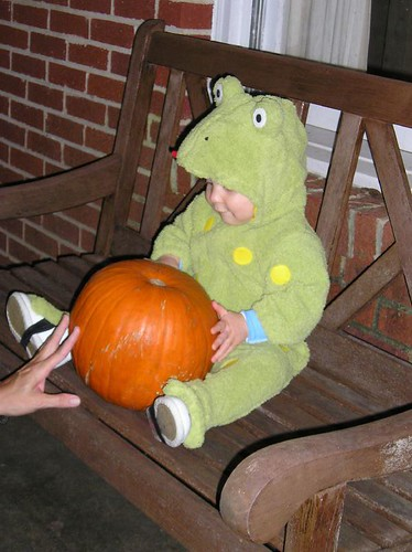 The Frog and the Pumpkin