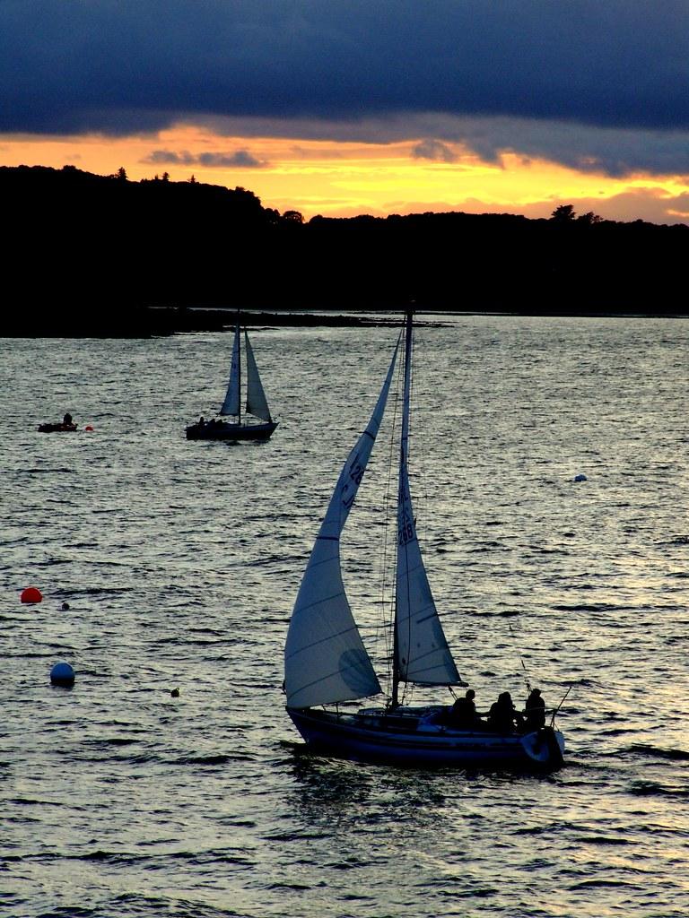 Sailing at Dusk
