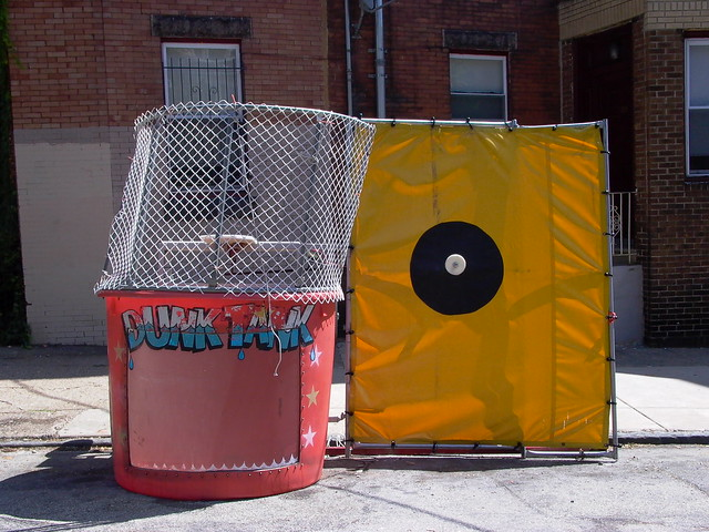 Dunk Tank In Philly Flickr Photo Sharing