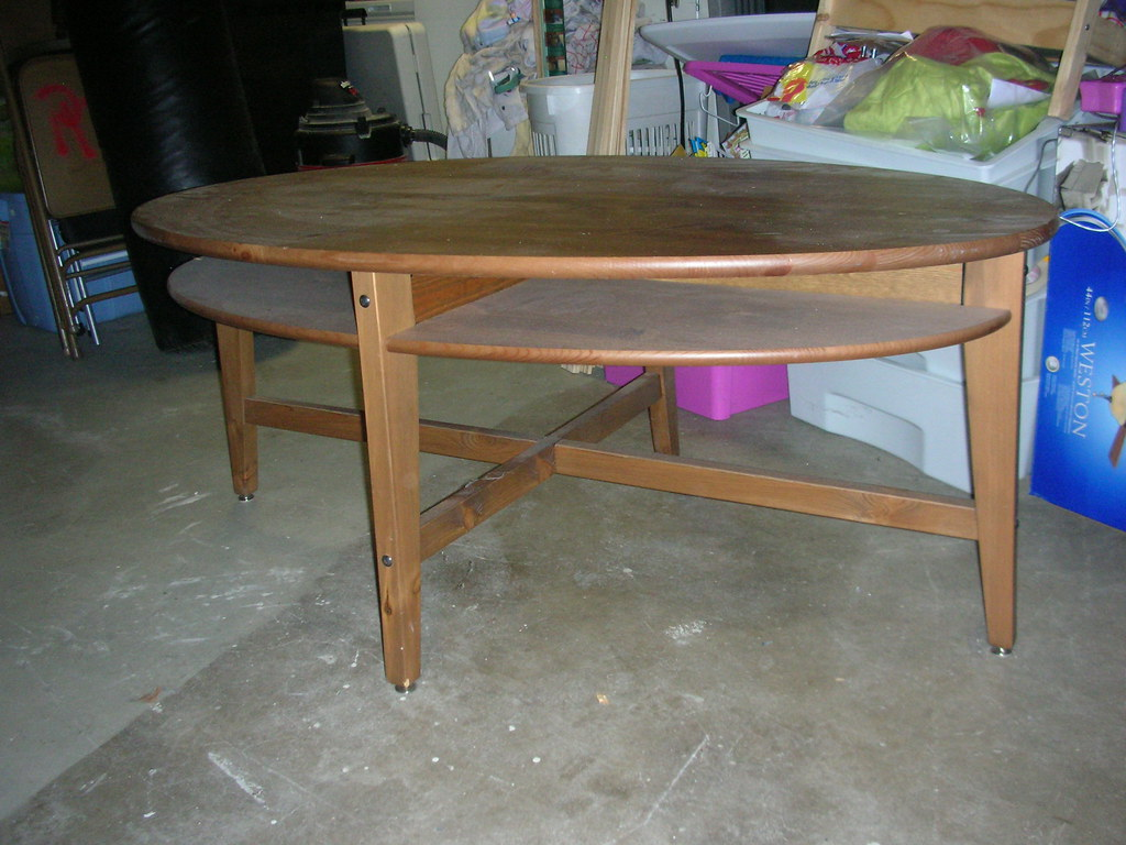 Brown IKEA Coffee Table