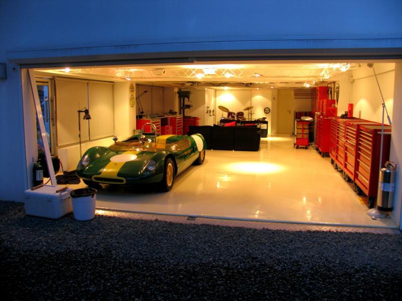 World 39 s most beautiful garages exotics insane garage for Cool garage floors
