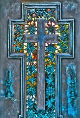Two crosses...