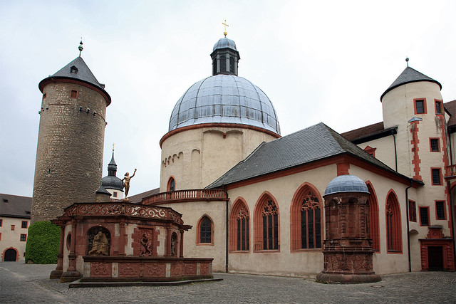 Marienberg courtyard