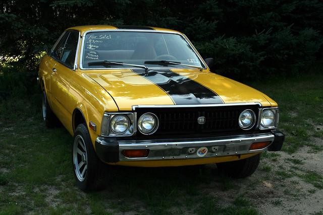 845500272on 1976 Toyota Corolla