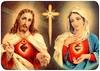 corazones de Jesús y María