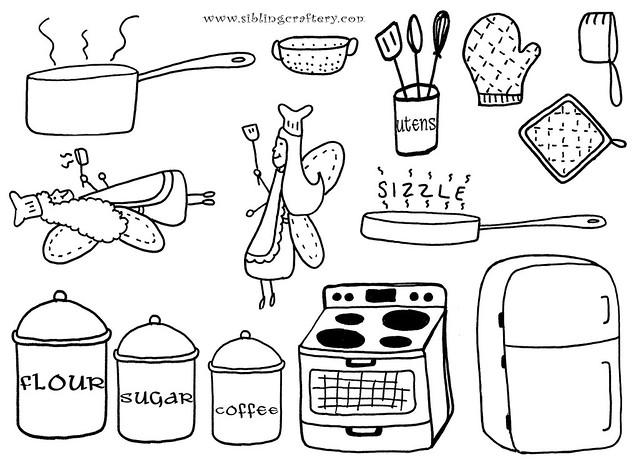 Kitchen Embroidery Designs Talentneeds
