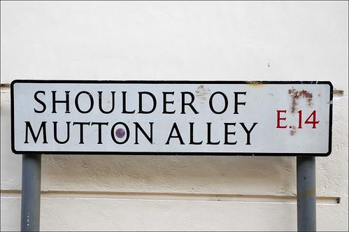 Shoulder of Mutton Alley