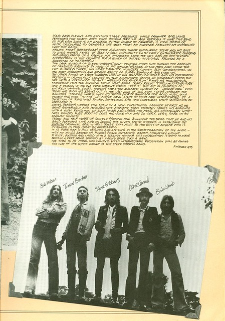 1975 - Who, The - European Tour - Opener Steve Gibbons Band - Side 22