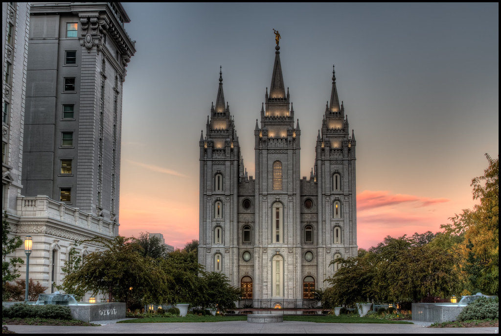 LDS Temple, Salt Lake City