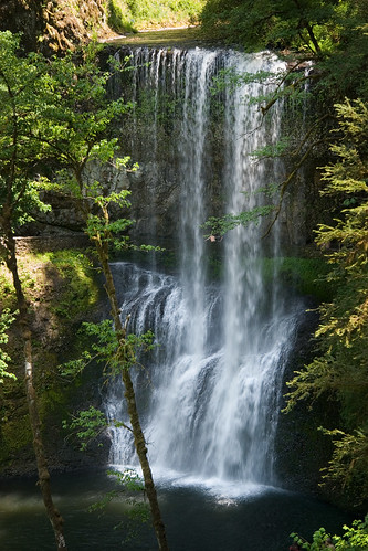 park camping oregon creek silver waterfall all state hiking falls silverfallsstatepark pnw 2007 lowersouthfalls